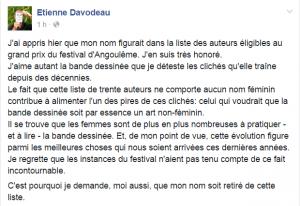 Etienne Davodeau FB