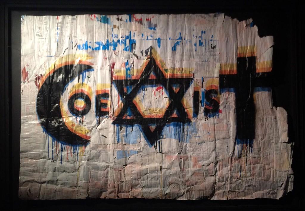 « Coexist » : la leçon de résistance de Combo
