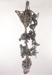 « L'arbre de vie», 2013/14 Tissus, 165 x 144 x 123 cm