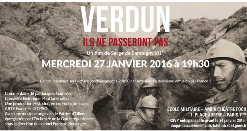 Les cent ans de Verdun
