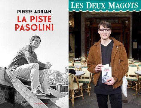 Pierre Adrian remporte le Prix des Deux magots 2016