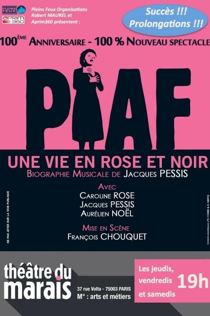 «Piaf, une vie en rose et noir» de Jacques Pessis