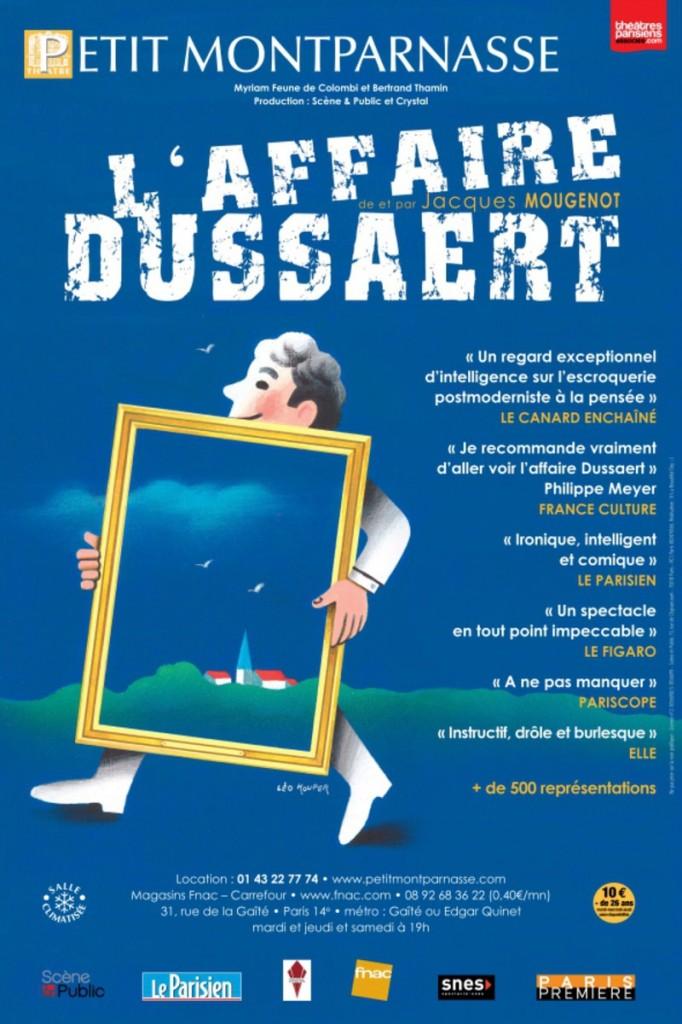 Avignon OFF, l'affaire Dussaert au Trois Soleils.