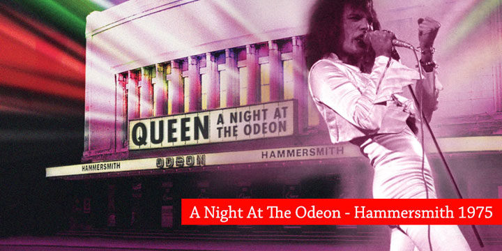 Queen: réédition de « A Night At The Odeon »
