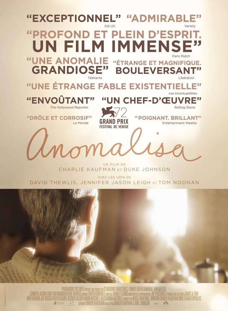 [Critique] « Anomalisa » : voyage intime délicieusement étrange de Charlie Kaufman