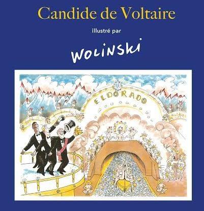 Le Candide de Voltaire illustré par Wolinski
