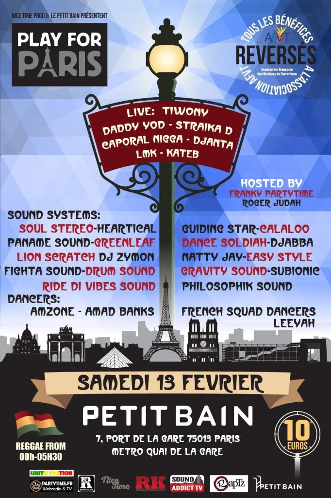 Play for Paris, un concert d'hommage aux victimes du 13 novembre