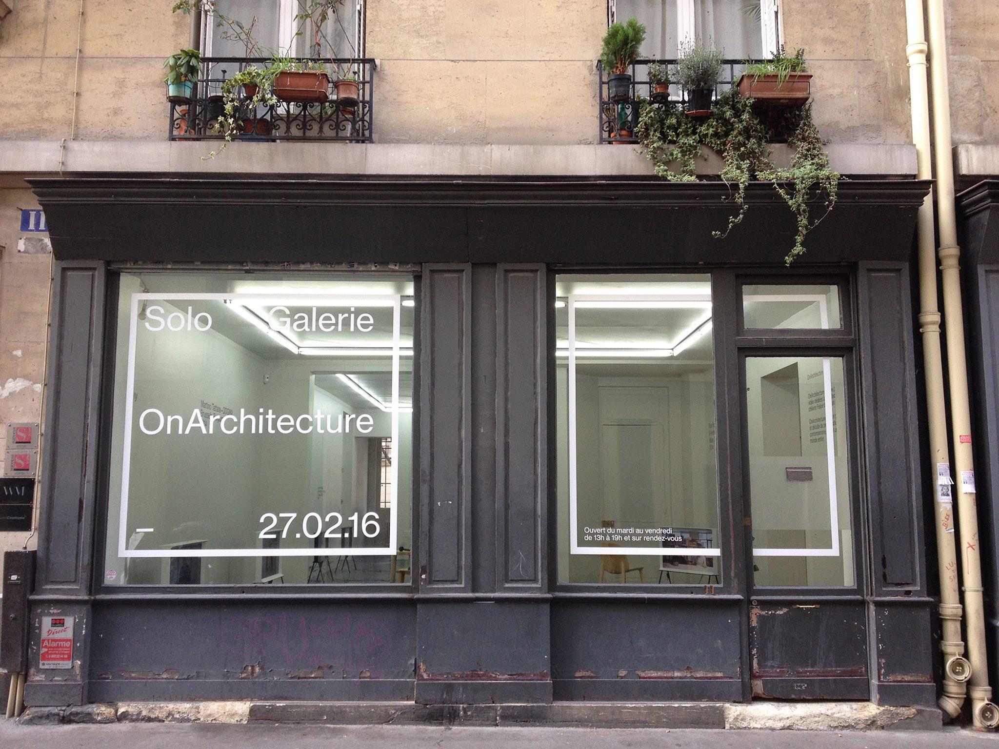 Solo galerie le duo r ussi entre architecture et art for Architecture et art