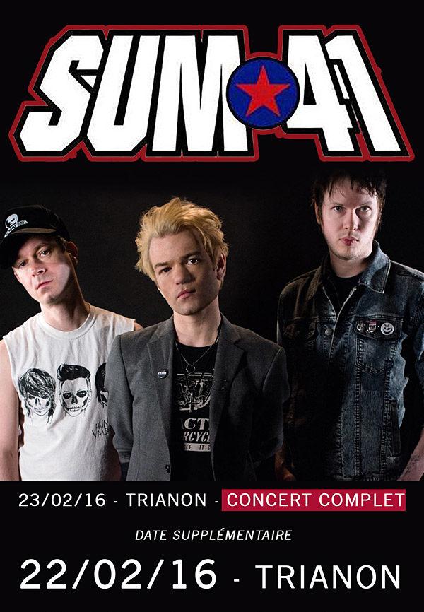 [Live report] SUM 41 au Trianon