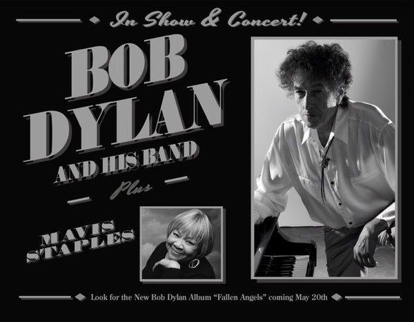 Bob Dylan annonce un nouvel album et une tournée