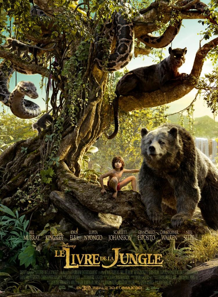 Gagnez 10×2 places pour le film «Le Livre de la Jungle»