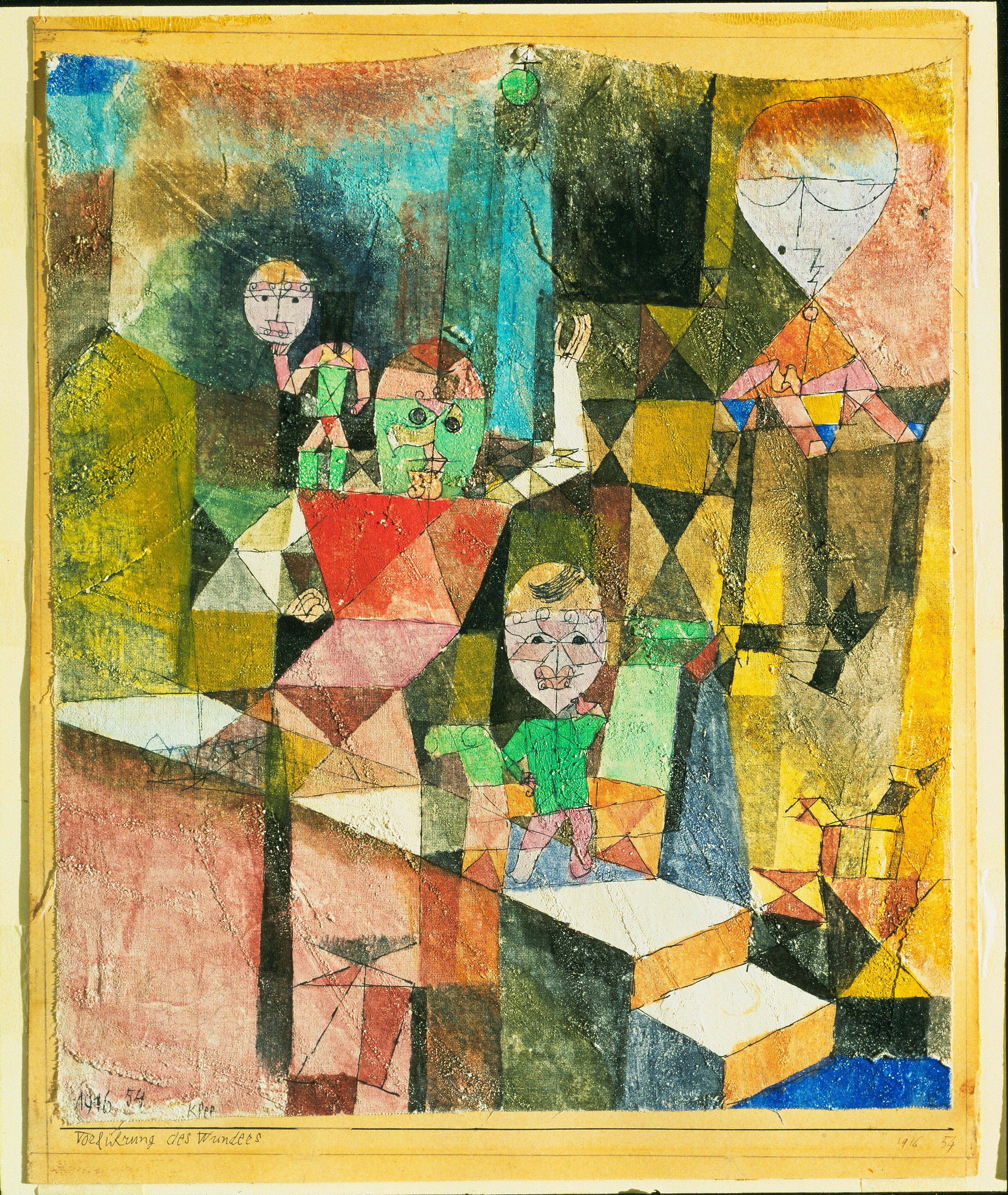 """""""Paul Klee : l'ironie à l'oeuvre"""" : un événement exceptionnel - Toutelaculture"""