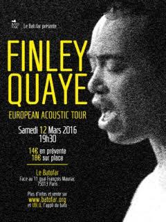Gagnez 2×2 places pour le concert de Finley Quaye au Batofar