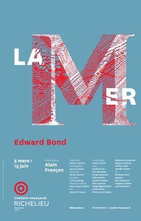 «La Mer» d'Edward Bond à la Comédie Française