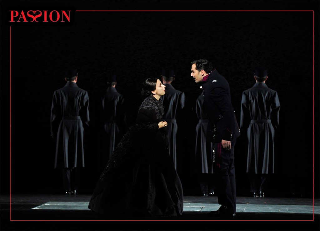 «Passion» : Fanny Ardant dans un Sondheim minimaliste au Châtelet