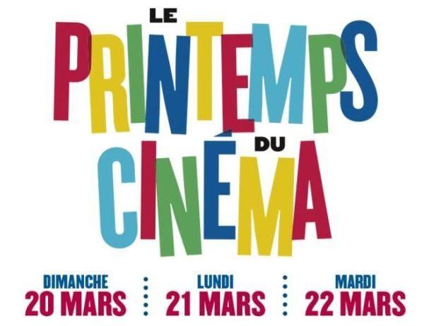 Printemps du cinéma 2016 : 3€50 la séance du 20 au 22 mars. Programme et sélection !