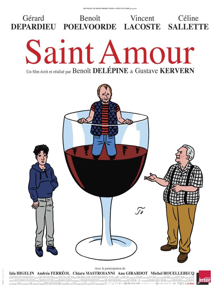 [Critique] DVD « Saint Amour » merveilleux quatuor Delépine / Kervern / Poelvoorde / Depardieu