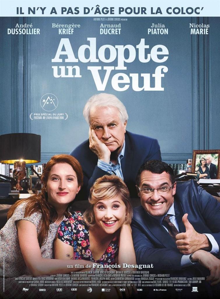 [Critique] « Adopte un veuf » André Dussollier emporté par le tourbillon Bérengère Krief
