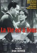 Affiche La Vie est à Nous de Jean Renoir