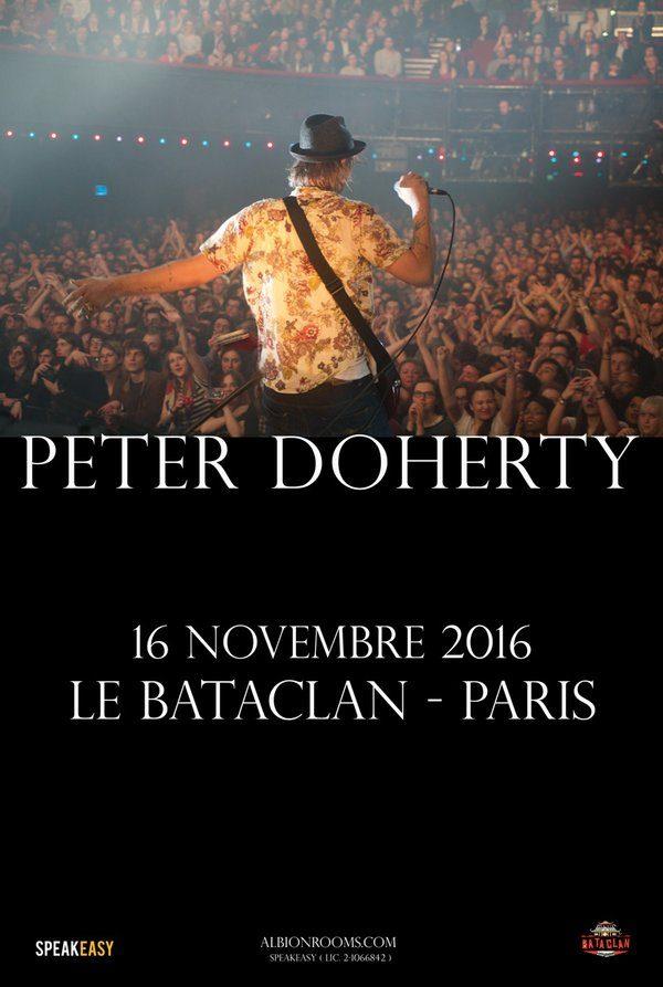 Pete Doherty fera la réouverture du Bataclan