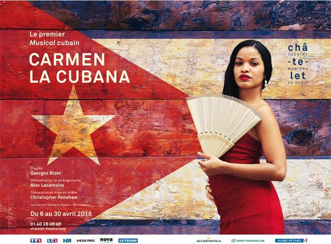 Carmen, la Cubana au Chatelet