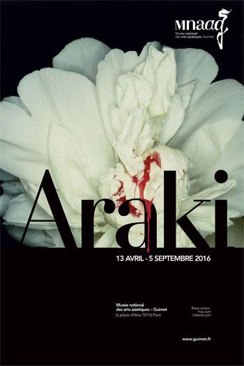 «Araki rit, Araki meurt» rétrospective au musée Guimet jusqu'au 5 septembre 2016