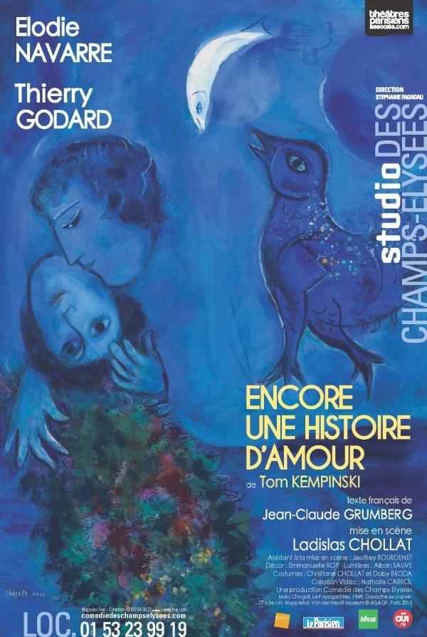 «Encore une histoire d'amour» à La Comédie des Champs Elysées.