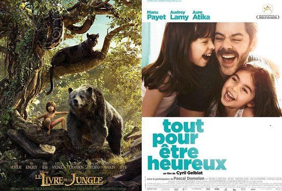 Box-office France semaine : 1,3 million d'entrées pour le Livre de la jungle 2016 de Disney