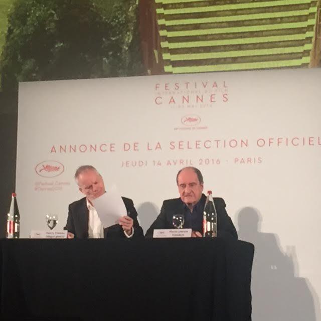 Cannes 2016 : L'annonce de la sélection «Un certain Regard» en direct