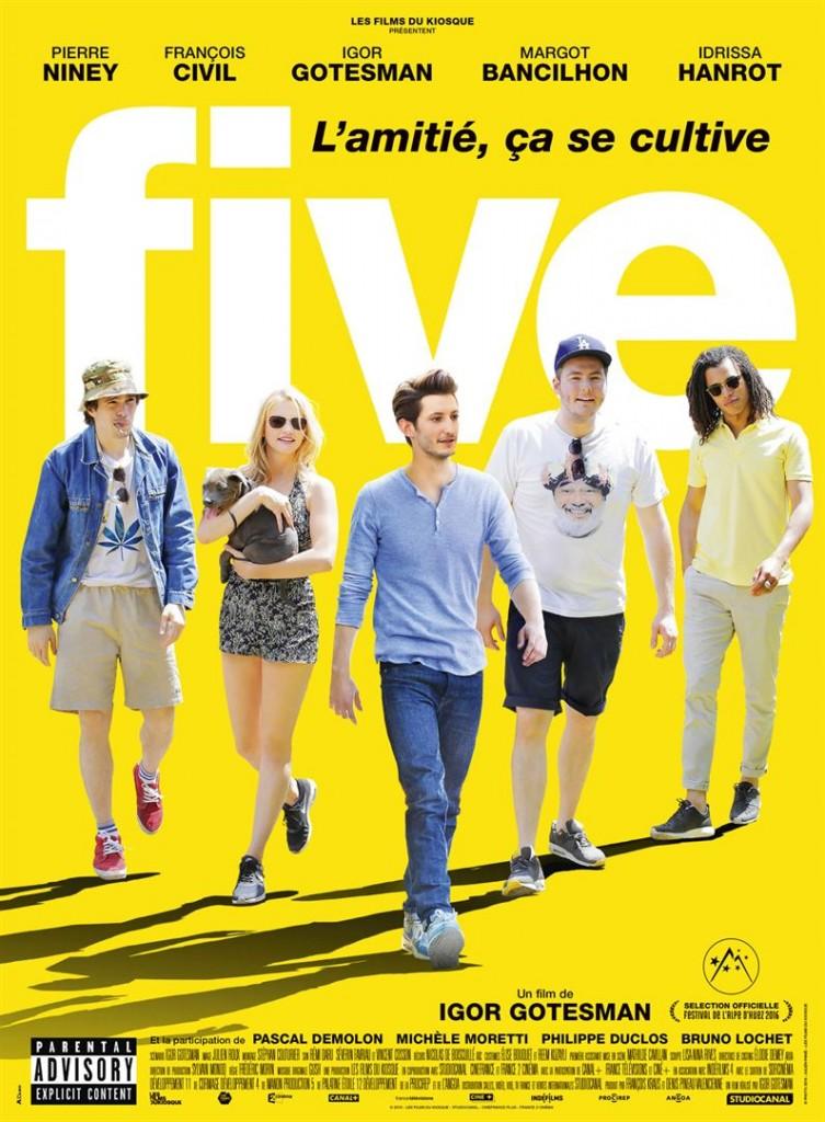 [Critique] « Five » le film : Pierre Niney et François Civil inventent un joli flow de comédie