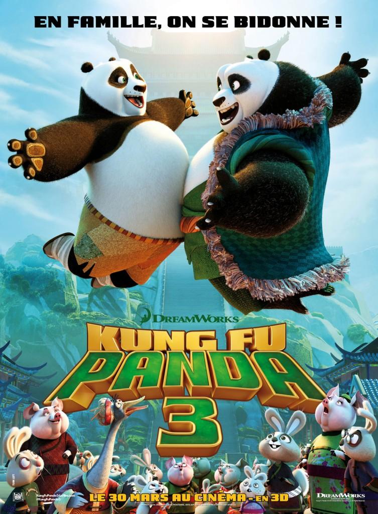 «Kung-fu panda 3» : une suite réchauffée