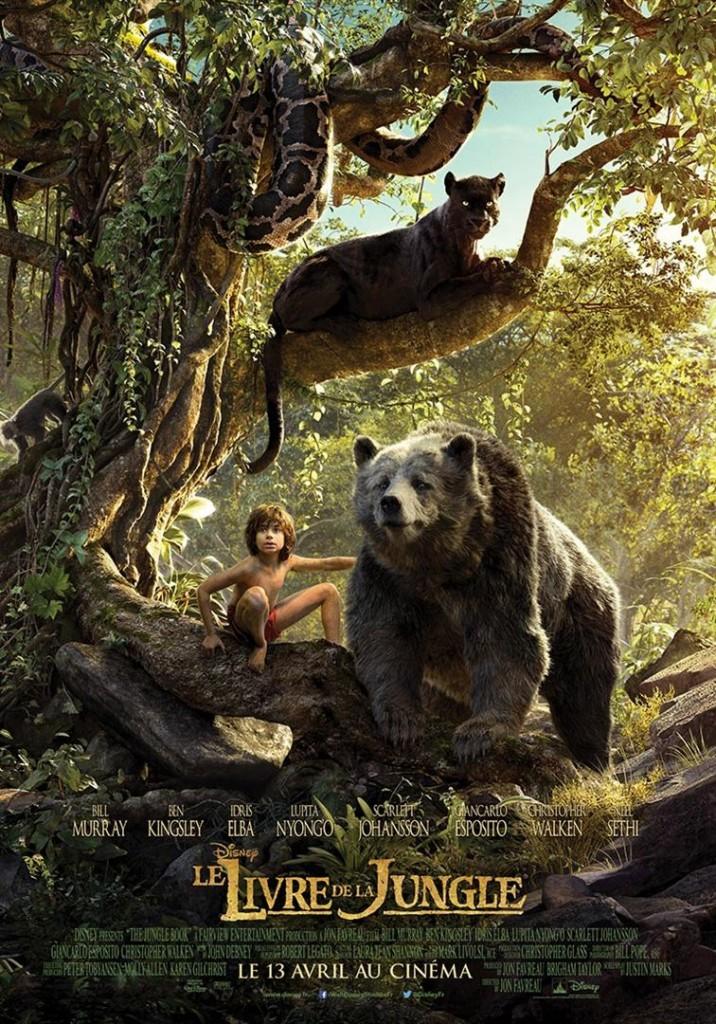 [Critique] « Le livre de la Jungle » recyclage Disney aux qualités techniques indéniables