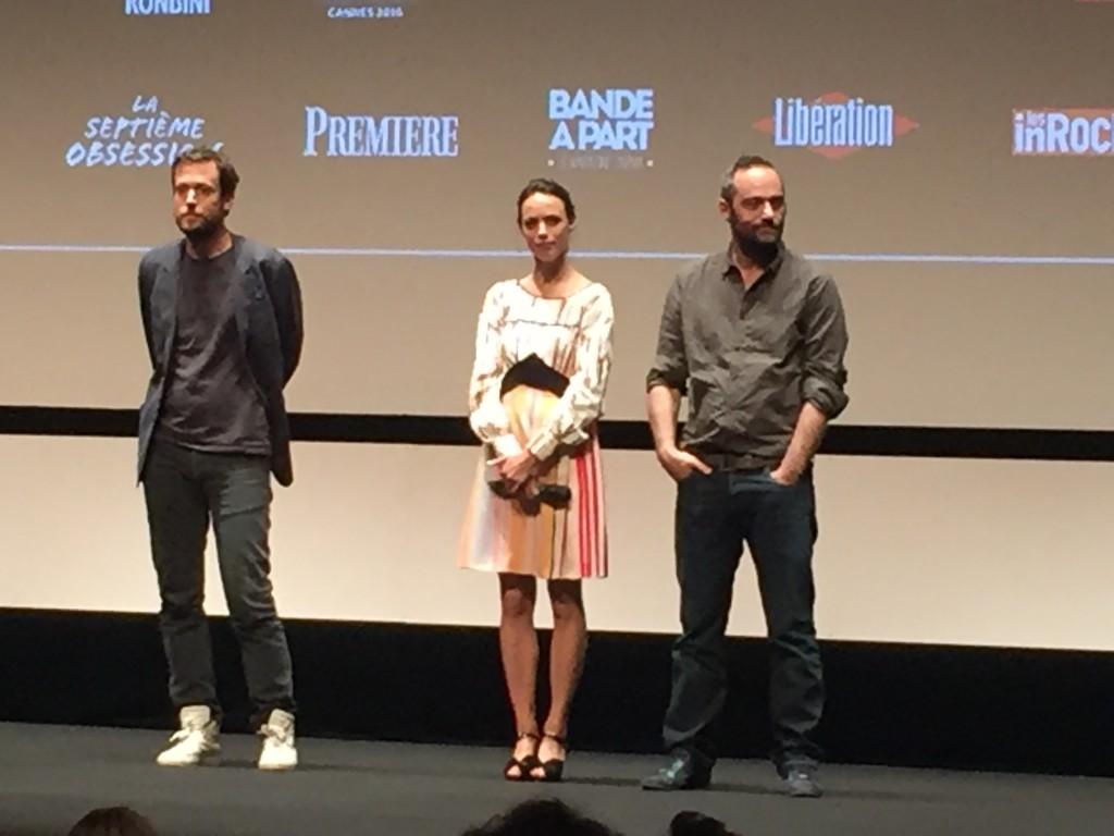 [Cannes 2016, Quinzaine] «L'économie du couple» Bérénice Bejo et Cédric Kahn et la crise