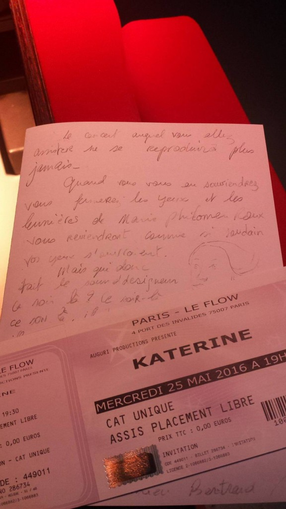 [Live report] Philippe Katerine au Flow