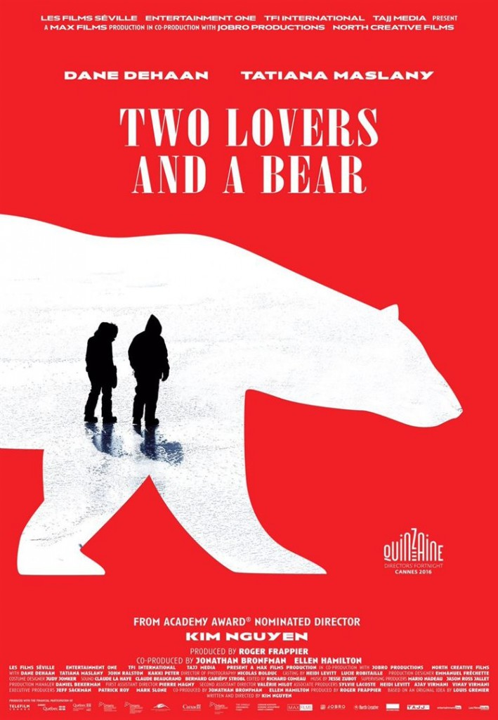 [Cannes 2016, Quinzaine] « Two Lovers and a Bear », love-trip glacial au Canada