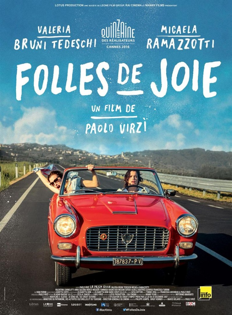 [Cannes 2016, Quinzaine] «Folles de Joie», le bonheur à l'état brut