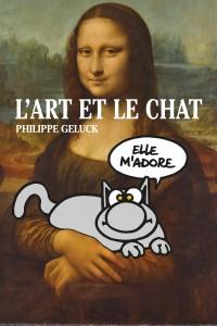 AFFICHE L'ART ET LE CHAT TITRE