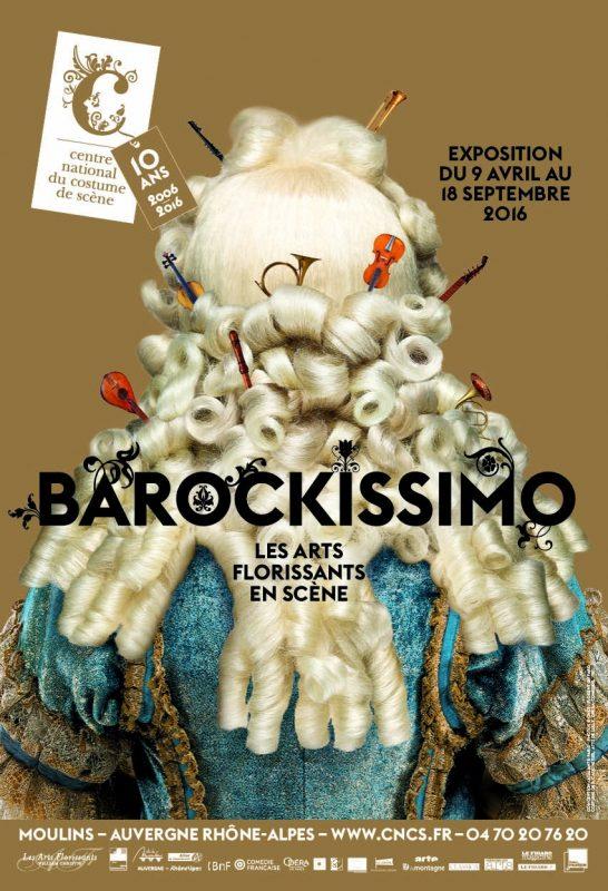 «Barockissimo ! les arts florissants en scène» Au Musée des arts du costume de Moulins