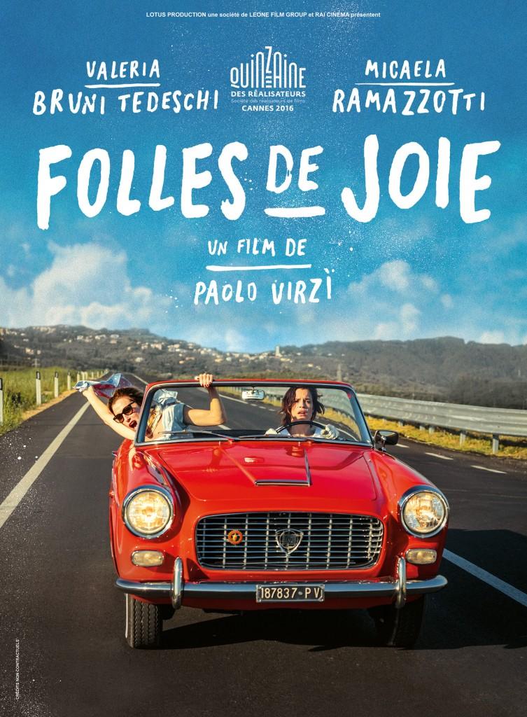 Gagnez 10×2 places pour le film «Folles de joie» de Paolo Virzì