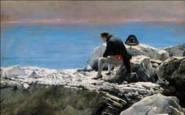 Napoléon à Sainte-Hélène - Visuel 1 - Oscar Rex, C'est fini, Napoléon Ier à Sainte-Hélène, huile sur toile, vers 1900 © Musée national des châteaux de Malmaison et Bois Préau