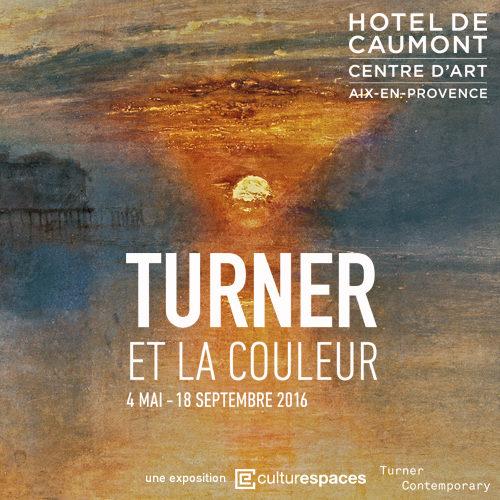 Turner et la couleur à l'Hôtel de Caumont jusqu'au 18 septembre
