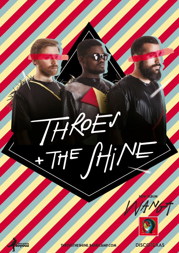 Gagnez 5×2 places pour le concert Throes + The Shine le 2 juin au Badaboum