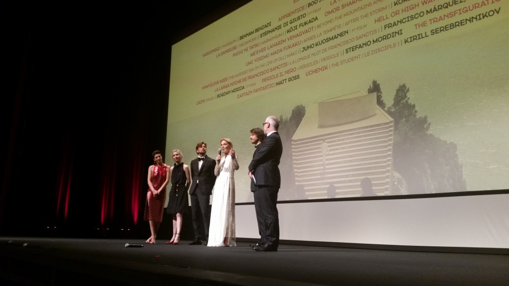 Cannes 2016, Jour 2 : Guiraudie à nu, ouvertures en cascade, Loach convaincant et Rocco pour finir