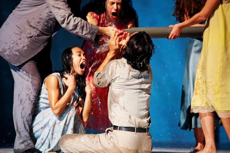 [Critique] «Agua», une reprise fluide de la pièce brésilienne de Pina Bausch au Théâtre de la Ville