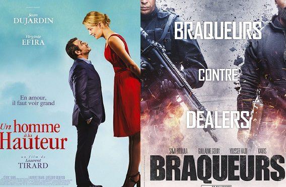 Box-office France semaine : Un homme à la hauteur précède Braqueurs avec 280000 entrées