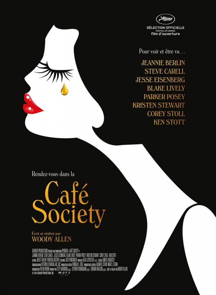 [Critique] du film « Café Society » du pur Woody Allen, sans surprise aucune