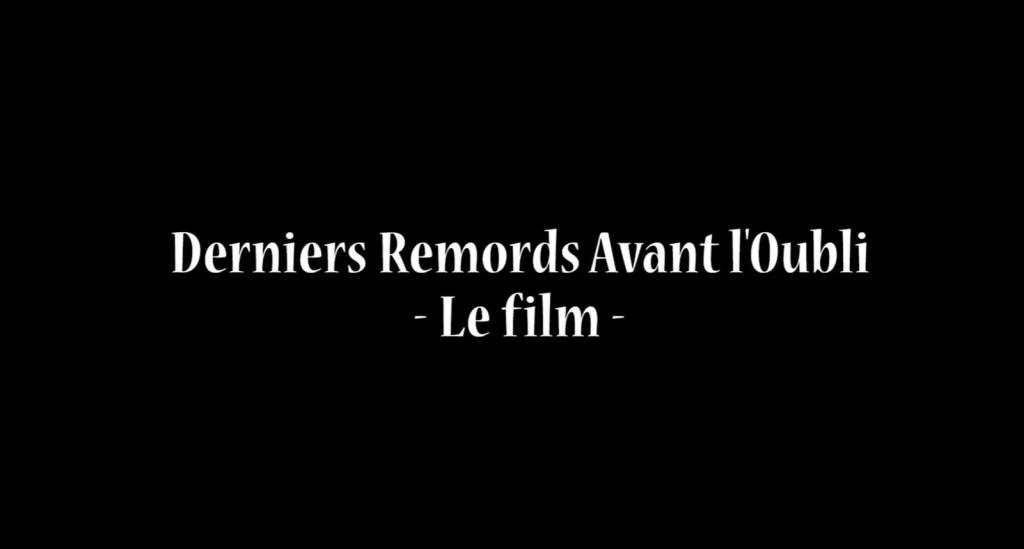 «Derniers remords avant l'oubli», un film que vous pouvez financer