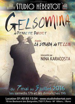 «Gelsomina», lumineux Spin Off de LA STRADA au Studio Hébertot