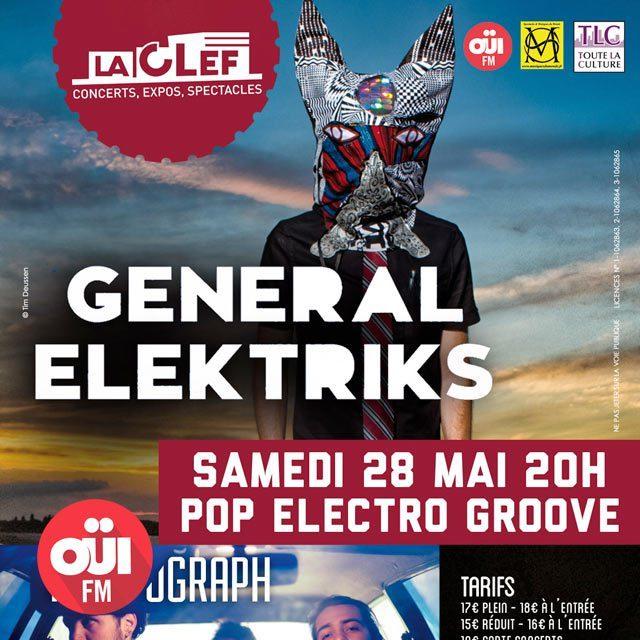 Gagnez 3×2 places pour le concert de General Elektriks + Photøgraph + FaneL le 28 mai