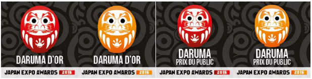 Les Japan Expo Awards 2016 : le palmarès